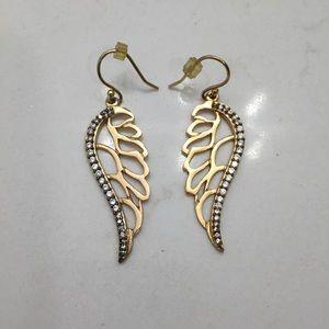 Stella & Dot | Angel wing earrings